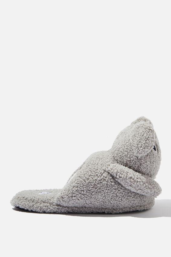 Novelty Slippers, FURRY KOALA