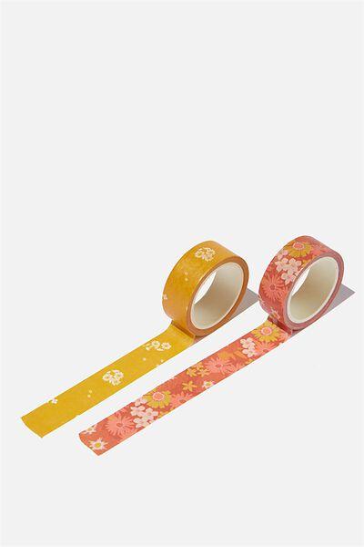 Washi Tape 2Pk, JOHNI FLORAL