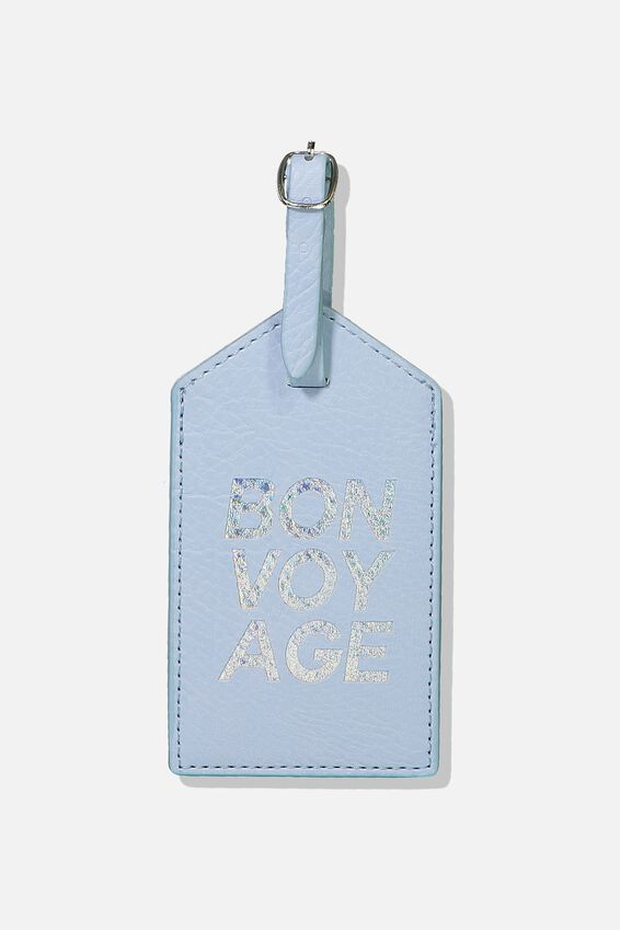 Luggage Tag, BONVOYAGE