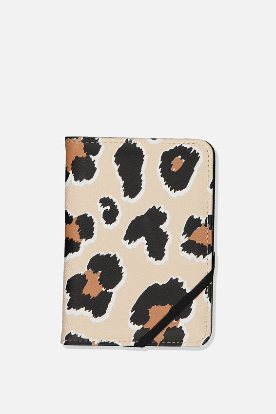Passport Holder, LEOPARD PRINT