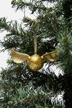 Licensed Christmas Ornament, LCN WB HP GOLD SNITCH