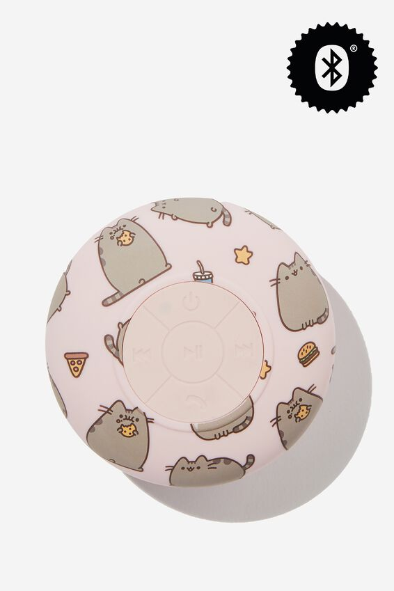 Pusheen Waterproof Bluetooth Shower Speaker, LCN PUSH CAT YARDAGE