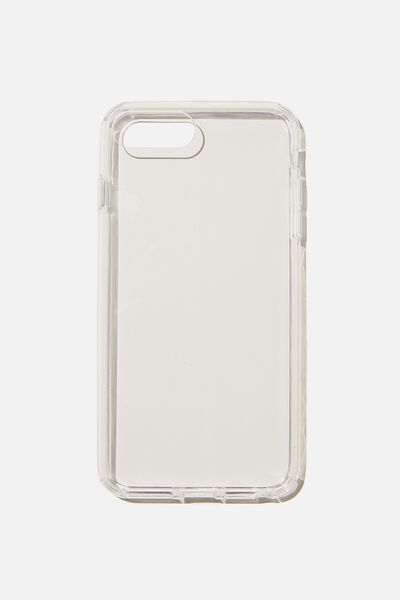 Protective Phone Case 6,7,8 Plus, CLEAR GLASS