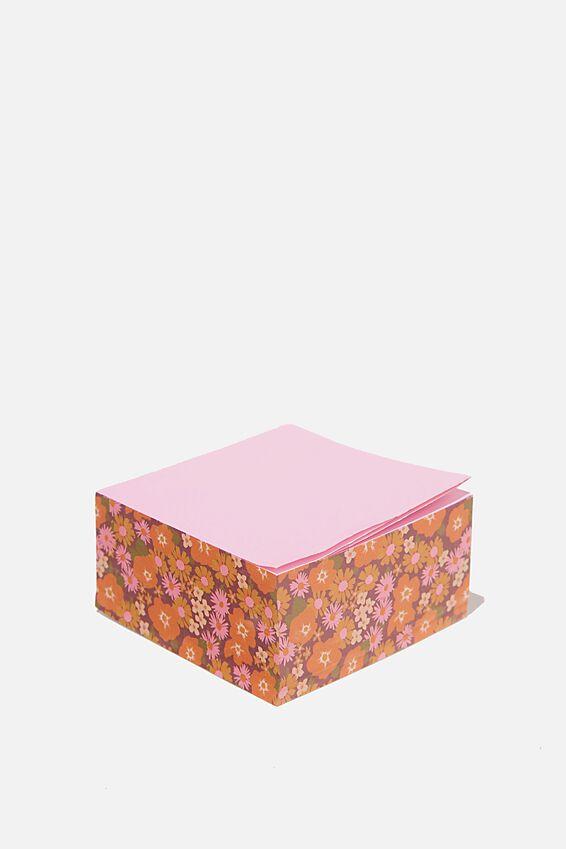 Memo Block, STEVIE FLORAL