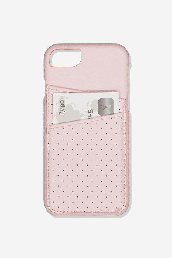 The Phone Cardholder 6,7,8, BLUSH PERF