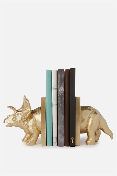 Novelty Bookends, TRICERATOPS