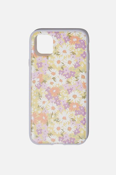 Protective Phone Case iPhone 11, PASTEL 70S DITSY