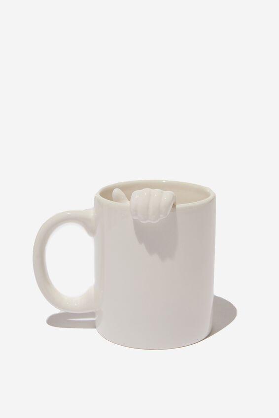 Shaped Mug, HAND IN MUG