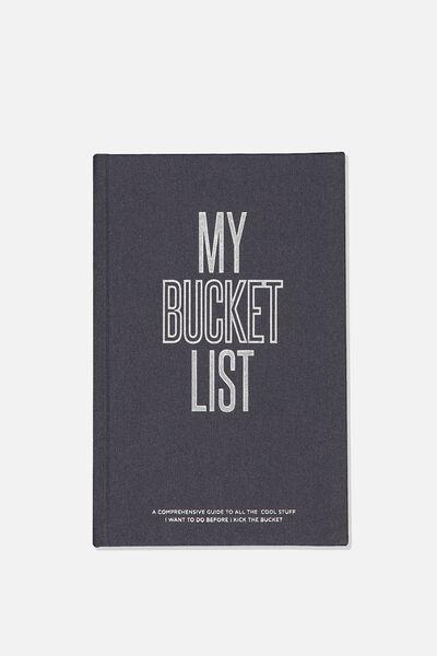 A5 Activity Book, MY BUCKET LIST
