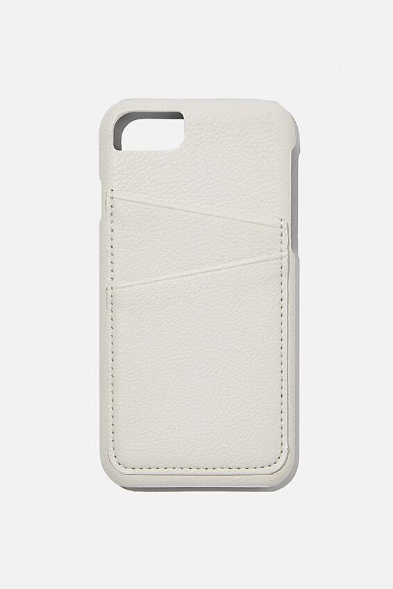 The Phone Case Cardholder SE, 6,7,8, ECRU