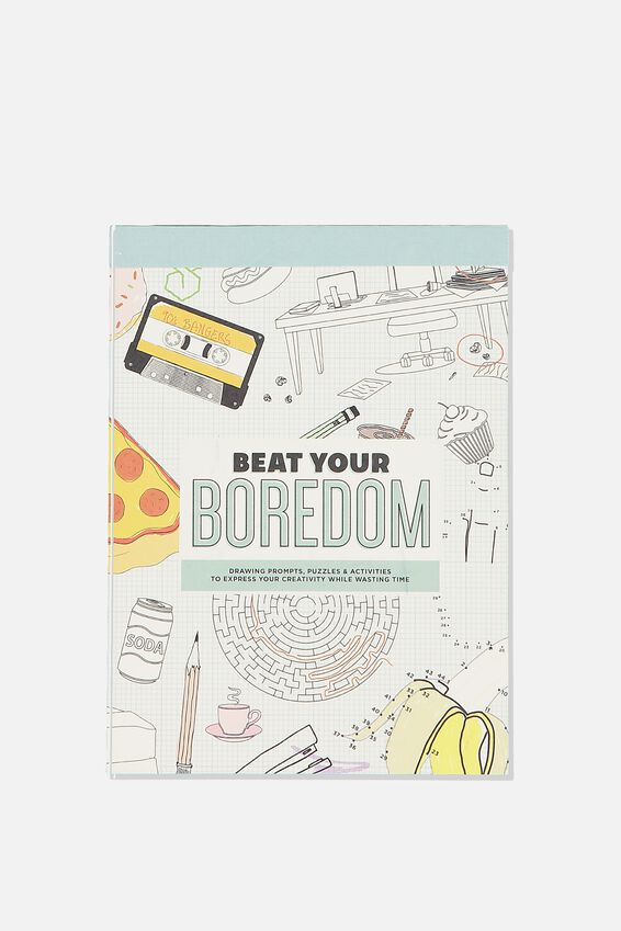 Post Card Colouring Book, BEAT YOUR BOREDOM
