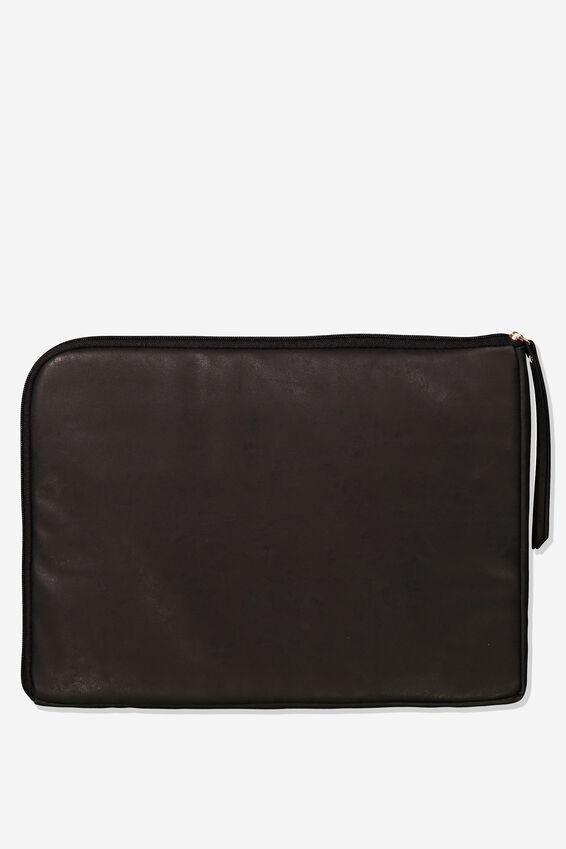 Premium Laptop Case 15 Inch, BLACK CROC