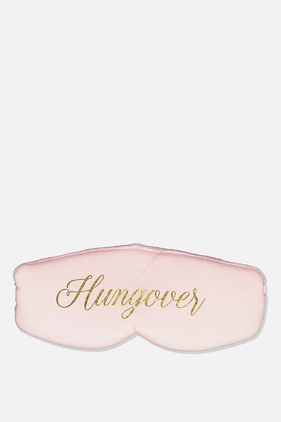Total Block Out Eyemask, BLUSH HUNGOVER!