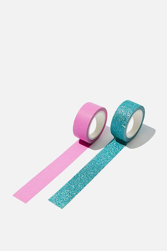 Washi Tape 2Pk, PURPLE & GREEN