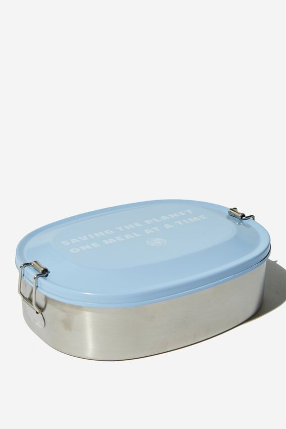 Stainless Steel Lunch Container, SAVING THE PLANET