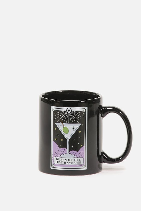 Anytime Mug, QUEEN MARTINI TAROT