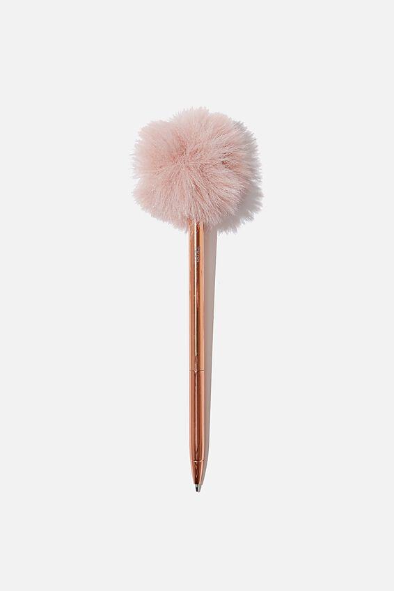 Fluffy Pen, DUSTY PINK