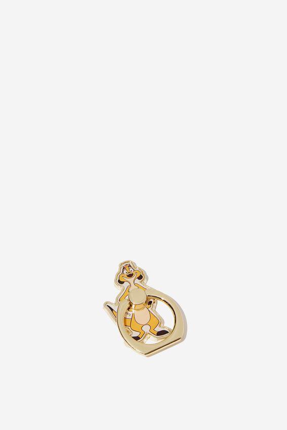 Lion King Metal Phone Ring, LCN DIS TIMON