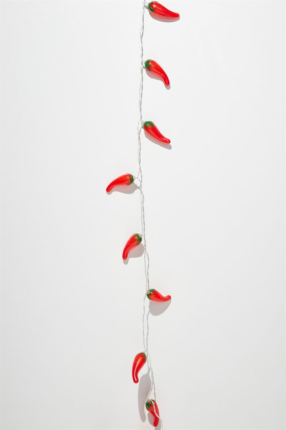 Novelty String Light, CHILIS