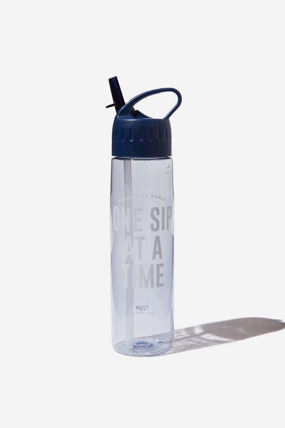 Refresher Water Bottle, ONE SIP AT A TIME