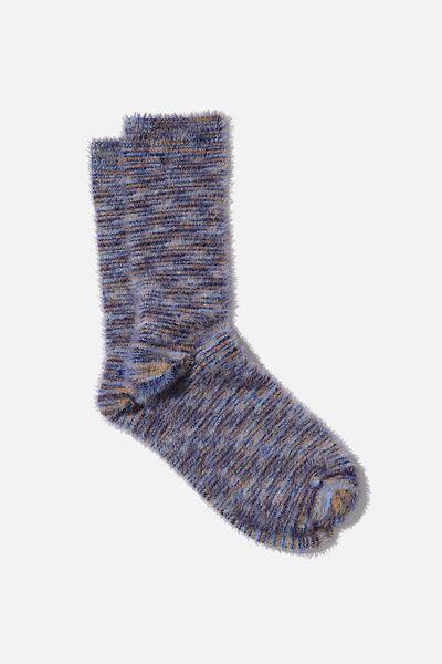 Textured Socks, UNI SPACE DYE