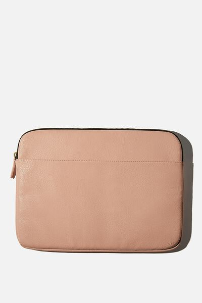 Core Laptop Cover 15 Inch, NUDE PINK