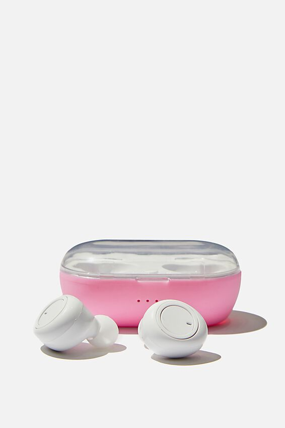 Wireless Earbuds, PLASTIC PINK