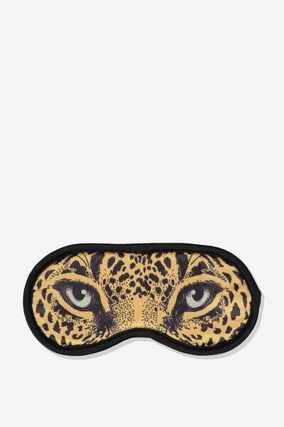 Premium Sleep Eye Mask, LEOPARD EYES