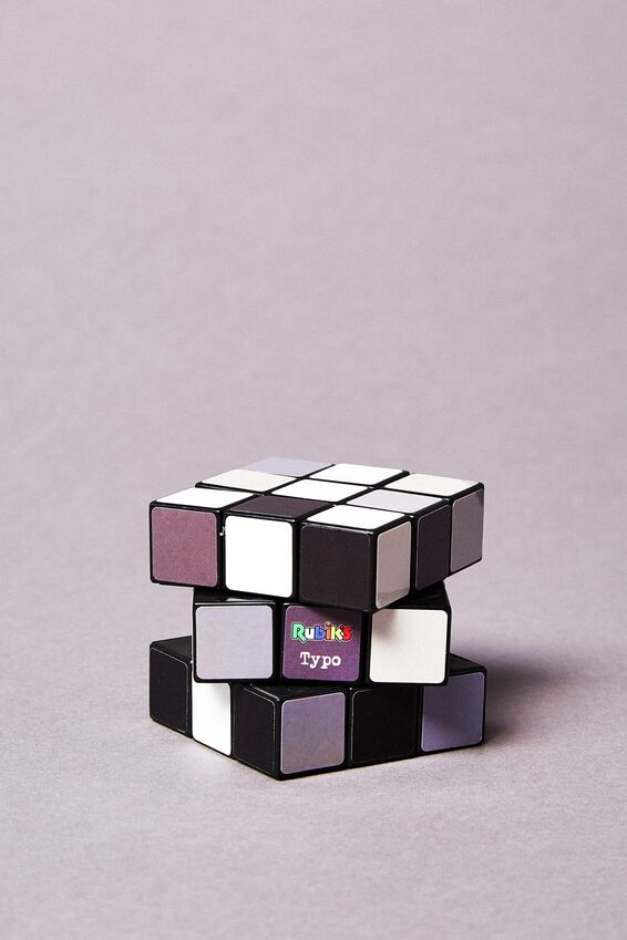 Rubiks Cube 3X3, MONOCHROME