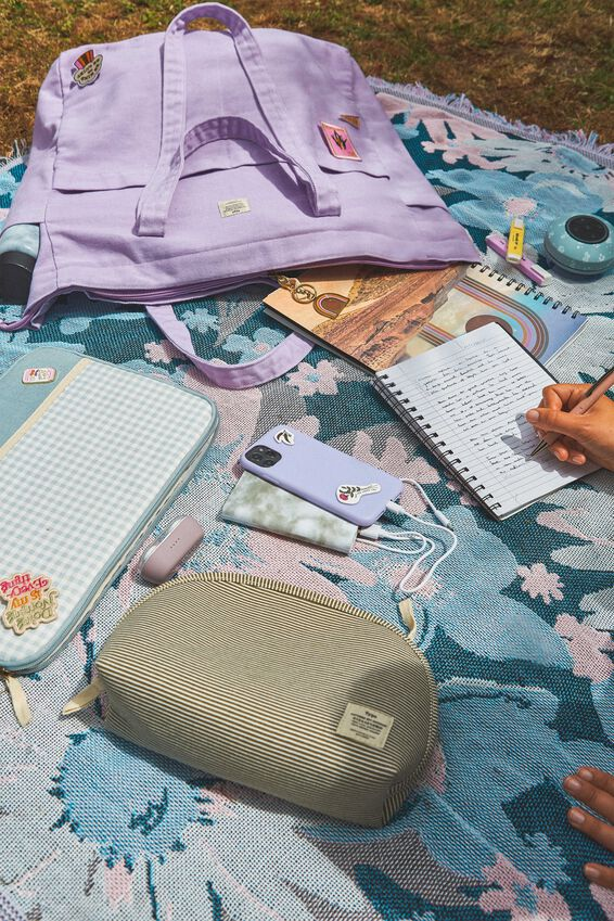 The Studio Tote Bag, WASHED PALE LILAC