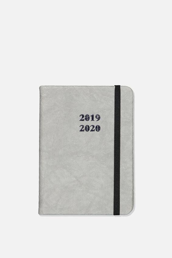 2019 20 A6 Daily Buffalo Diary, GREY