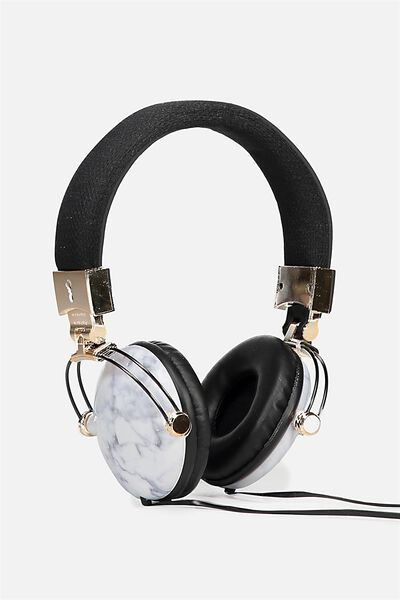Tune Out Headphones, MARBLE