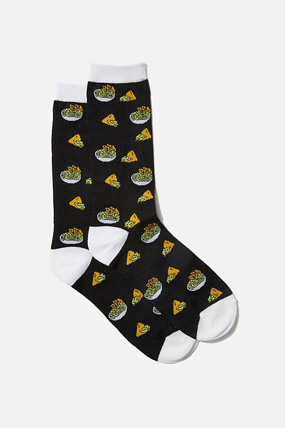 Socks, GUAC & NACHOS