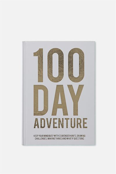 Activity Time Journal A5, 100 DAY CHALLENGE
