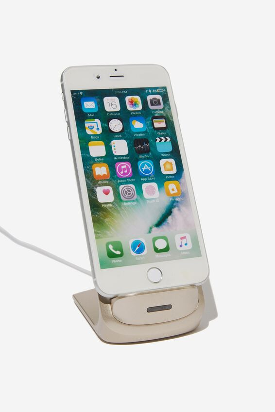 Wireless Charging Stand, GOLD