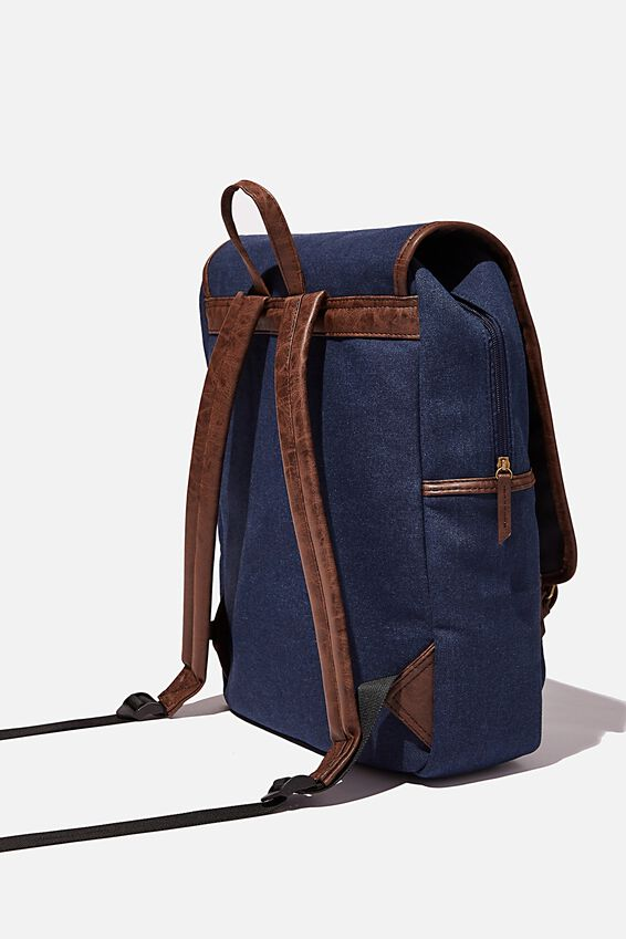 Heritage Backpack, WASHED NAVY