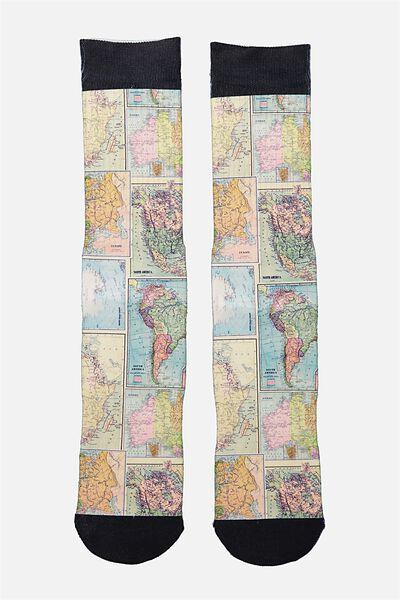 Mens Novelty Socks, COLOUR MAP