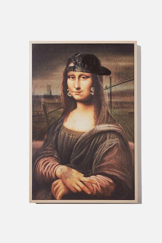 40 X 60 Canvas Art, HIP HOP MONA