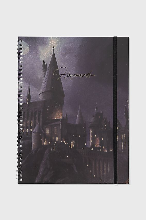 A4 Harry Potter Spinout Notebook Recycled, LCN WB HPO HOGWARTS