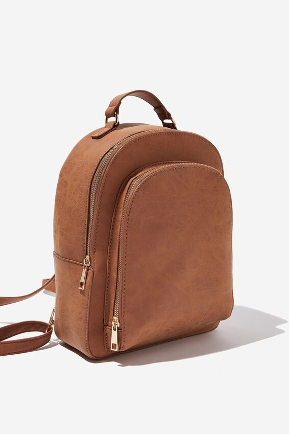 Tour Backpack, MID TAN