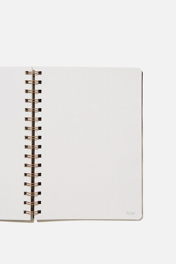 A5 Dot Daily Scribe Notebook, WELSH SLATE