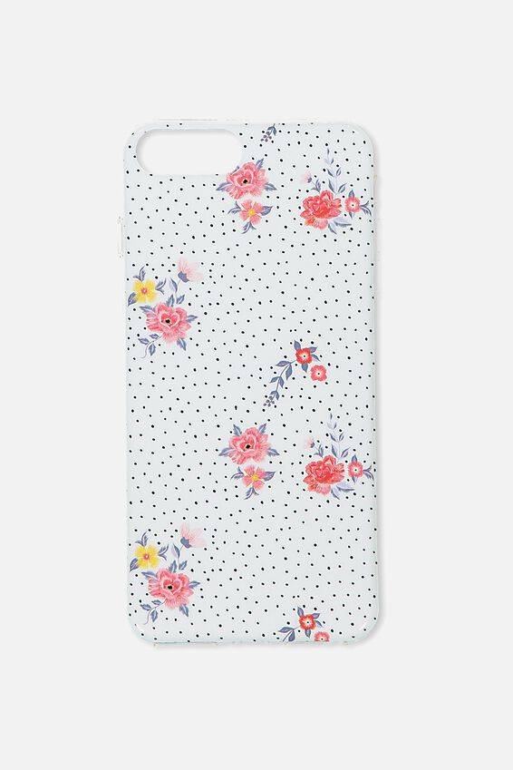 Printed Phone Cover 6,7,8 Plus, DOTTY FLORAL