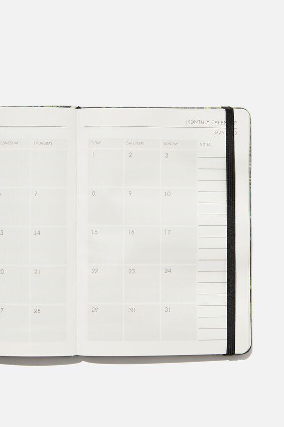 2020 A5 Weekly Buffalo Diary, FERN FOLIAGE