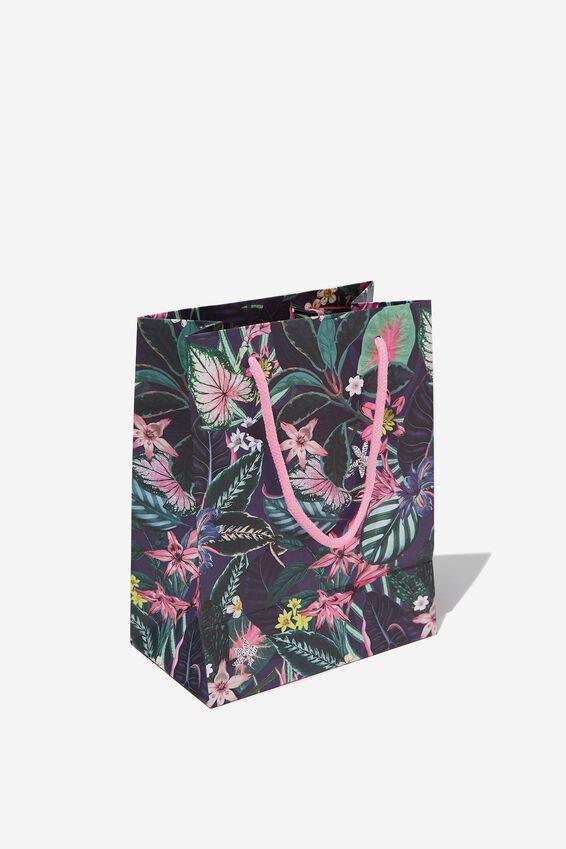 Small Stuff It Gift Bag, RESORT FLORAL