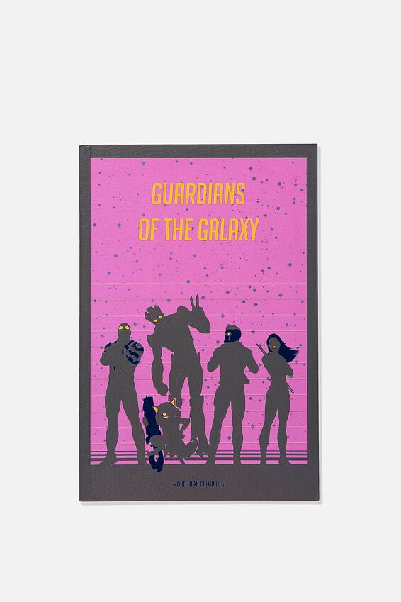 A5 Guardians of the galaxy Marvel Textured Notebook, LCN MAR GG GUARDIANS OF THE GALAXY