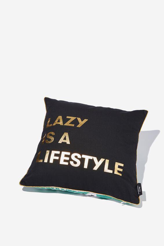 Square Cushy Cushion, LAZY LIFESTYLE