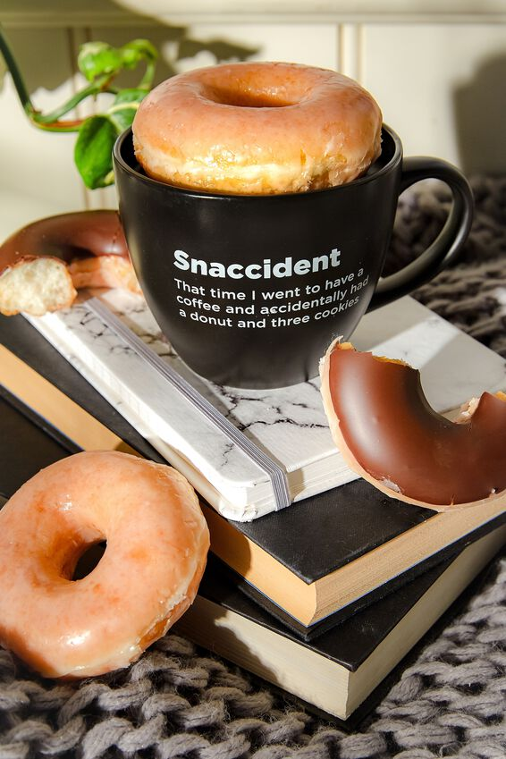 Donut Warming Mug, SNACCIDENT