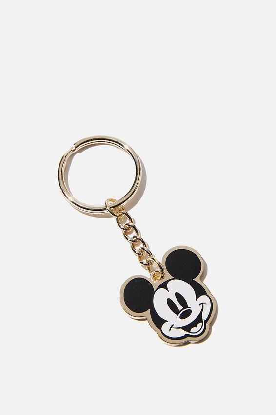 Disney Enamel Keyring, LCN DIS MK HAPPY MICKEY MOUSE