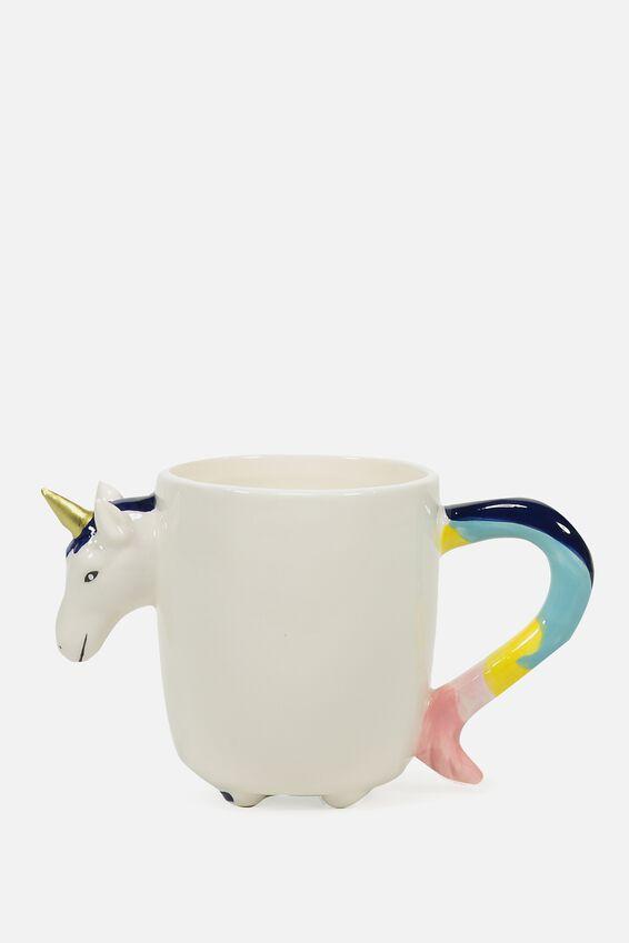 Novelty Shaped Mug, NEW YOU-NICORN