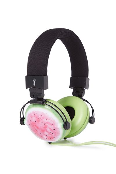Tune Out Headphones, WATERMELON
